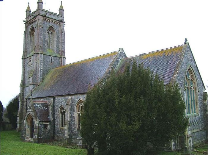 Church of St. Michael and All Angels in West Overton