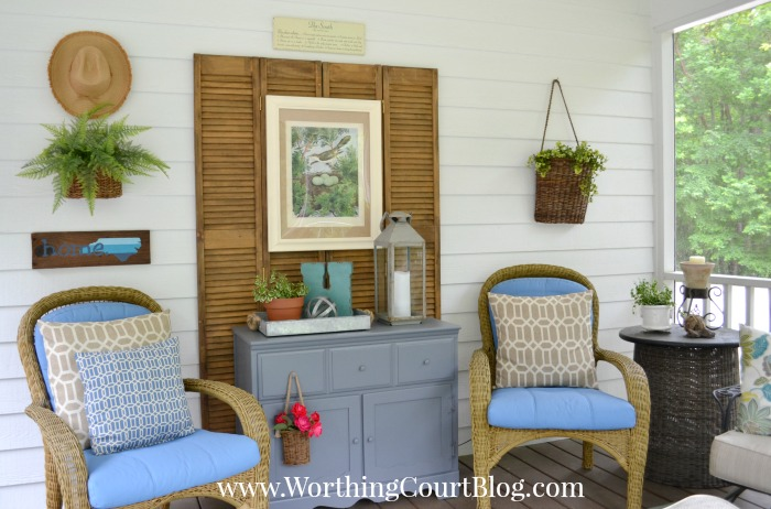 Decorate A Screened Porch