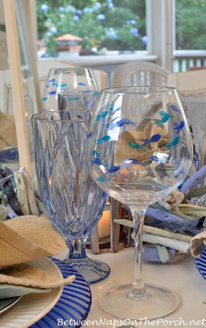 Fish Wine Glasses