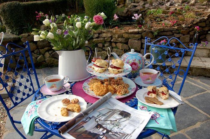 Luxury Breakfast at Pixie Nook, Warleggan, Cornwall United Kingdom