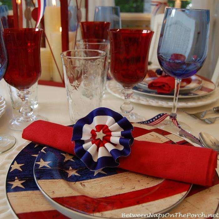 Make DIY Patriotic Napkin Rings