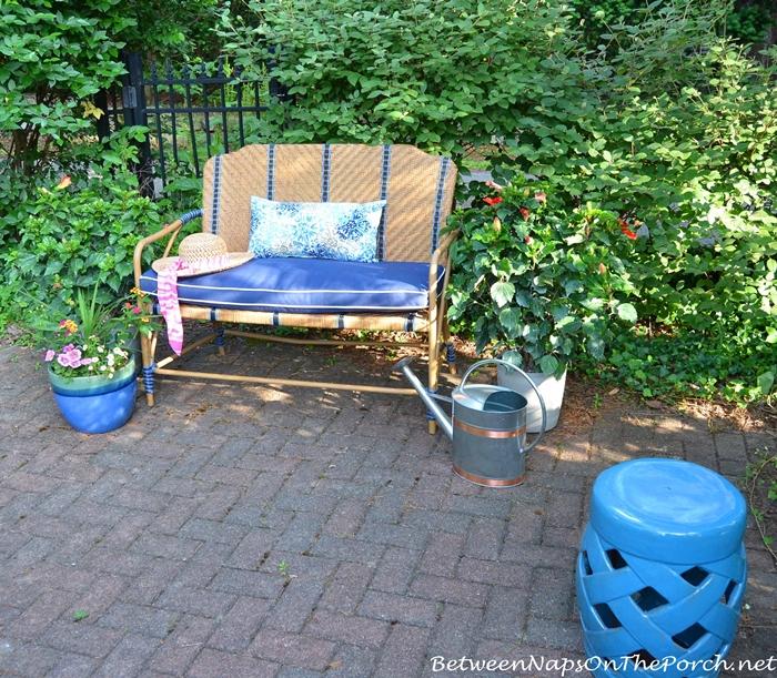 Martha Stewart Oleander Collection Outdoor Bench