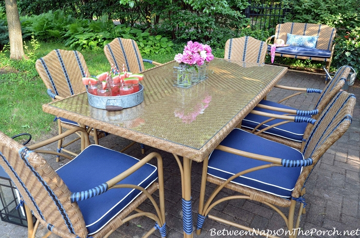 Martha Stewart Oleander Outdoor Dining Furniture
