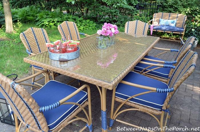 Superb Martha Stewart Oleander Outdoor Dining Furniture