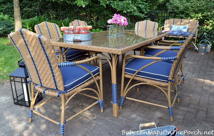 Martha Stewart's Oleander Furniture for Entertaining Outdoors