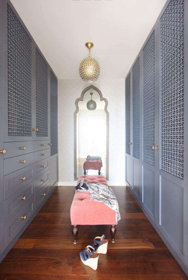 Master Closet for a Beach House