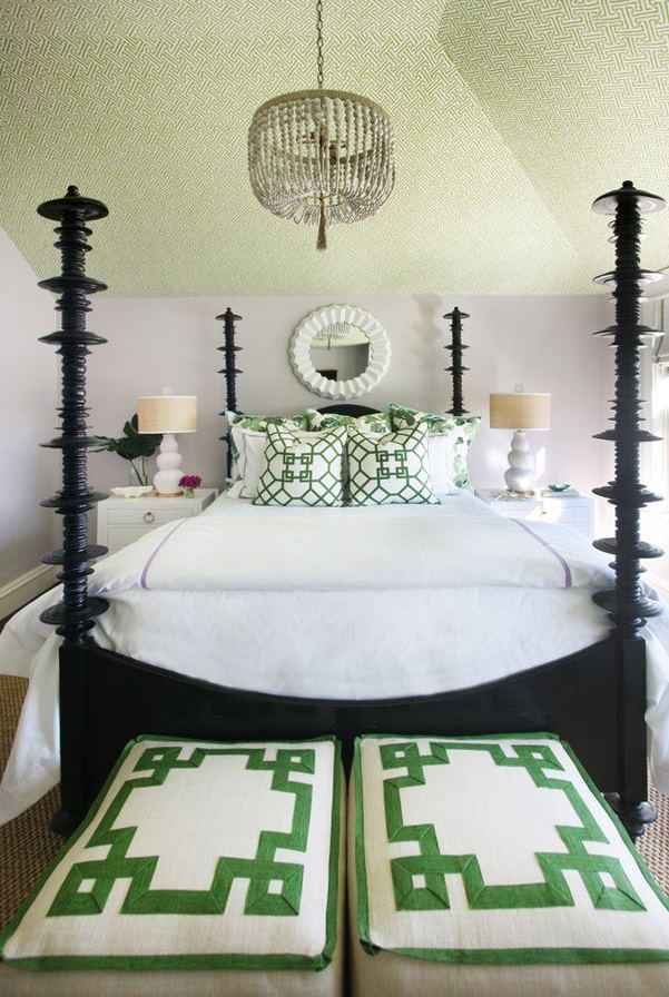 fabulous coastal bedroom design | Tour A Fabulous Beach House On Long Beach Island
