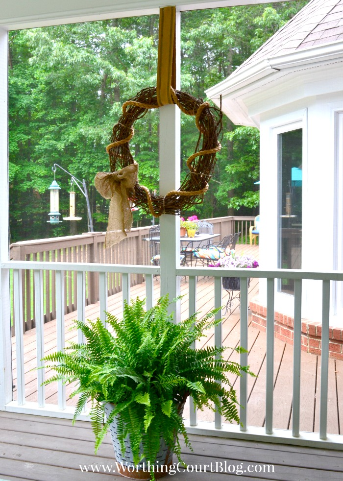 Porch and Deck Decor