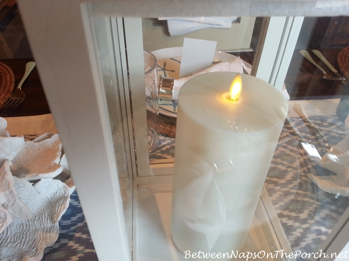 Pottery Barn Flickering, Flameless Candle