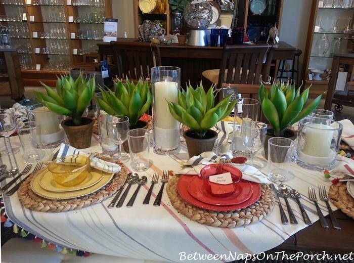 Pottery Barn Summer Table Settings 01