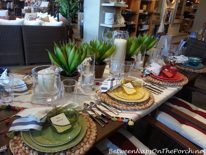 Pottery Barn Summer Table Settings 02