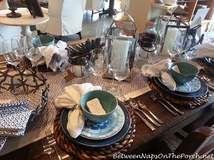 Pottery Barn Summer Table Settings 04