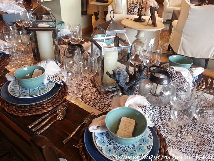 Pottery Barn Summer Table Settings 05