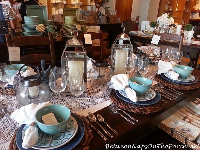 Pottery Barn Summer Table Settings 06