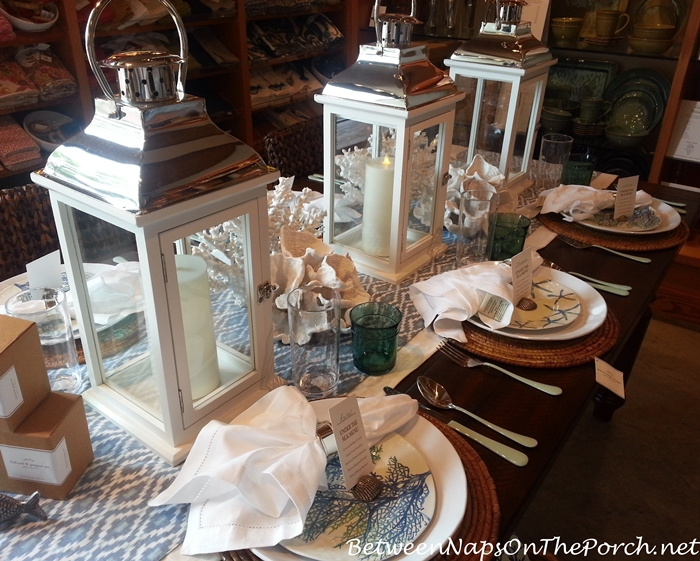 Pottery Barn Summer Table Settings 07