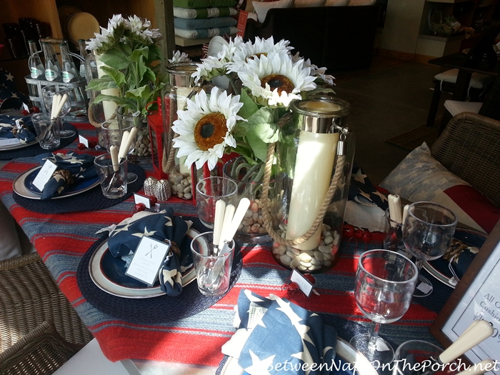 Pottery Barn Summer Table Settings 10
