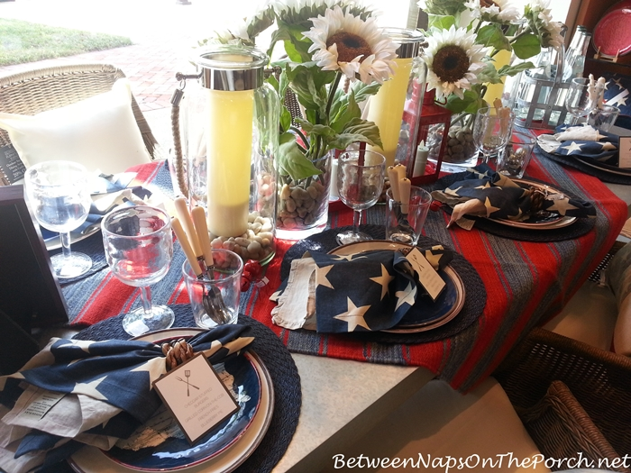 Pottery Barn Summer Table Settings 11