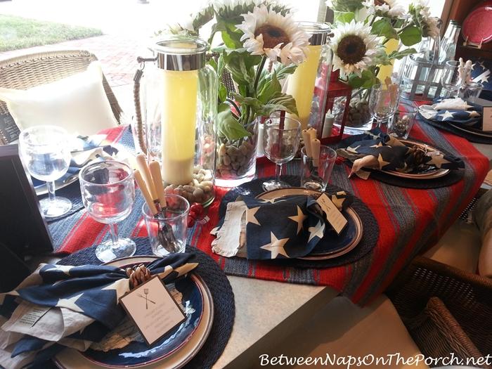 Pottery Barn Summer Table Settings 11