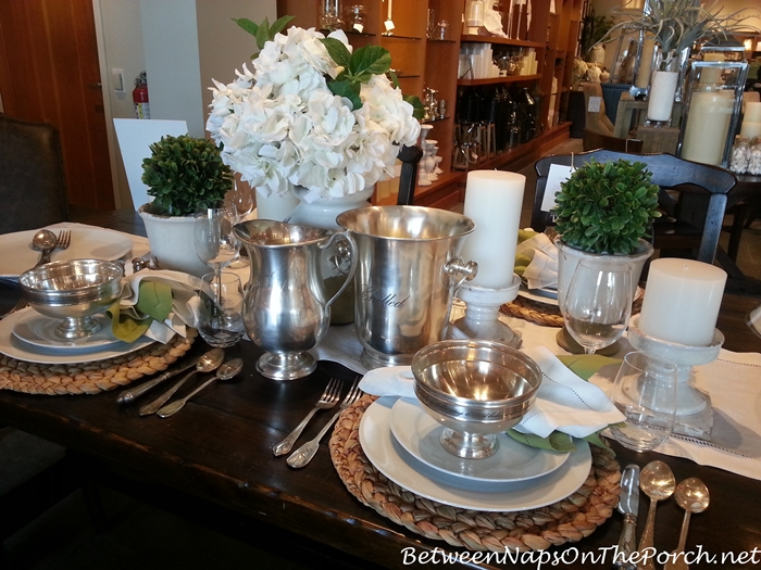 Pottery Barn Summer Table Settings 13