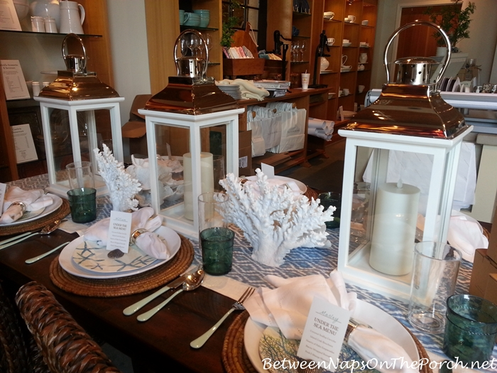 Pottery Barn Summer Table Settings 15