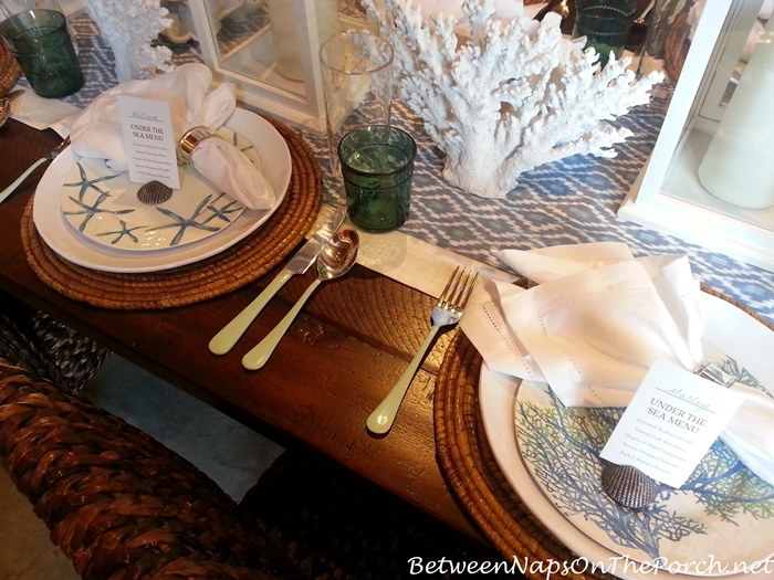 Pottery Barn Summer Table Settings 16