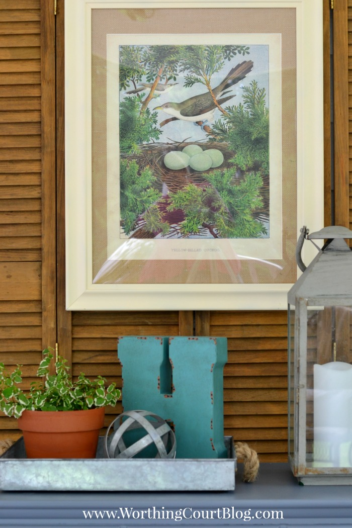 Screened Porch Summer Decor