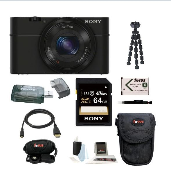 Sony RX100 Travel Camera Package