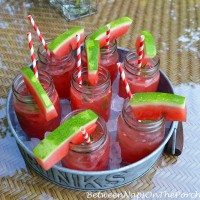 Watermelon Mojitos For A Summer Party