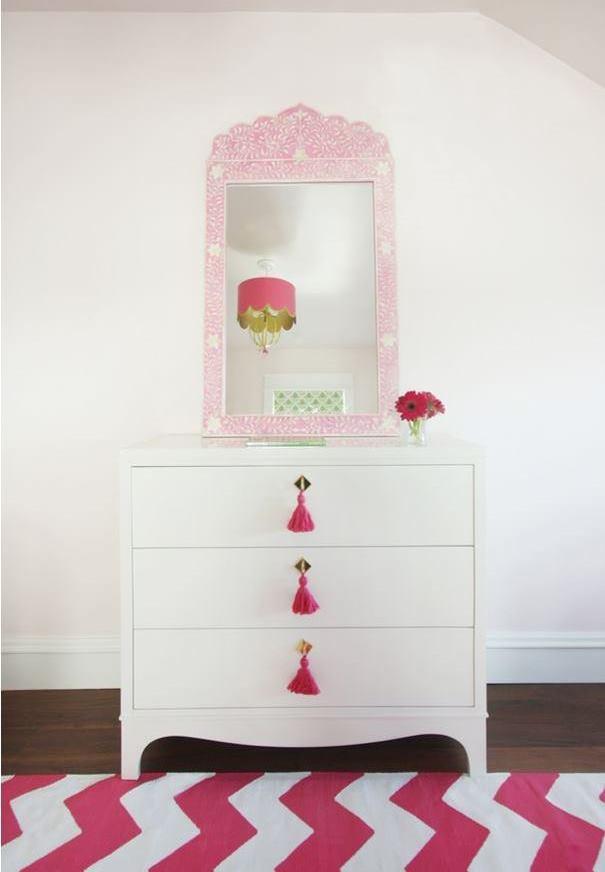 White Chest for Girl's Bedroom