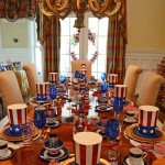 Table Setting Ideas for a 4th of July Party