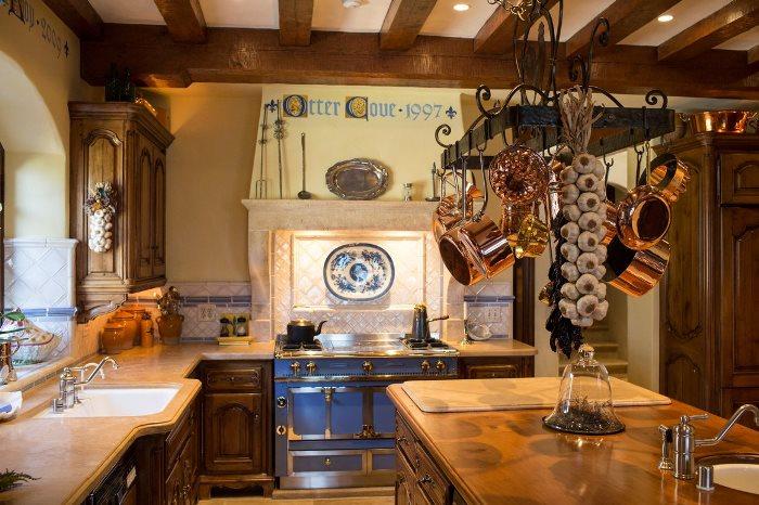 Beautiful French Normandy Kitchen