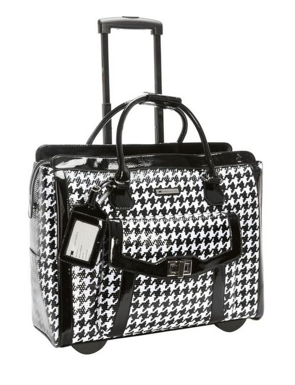 Cabrelli Victoria Rolling Laptop Carry on Bag