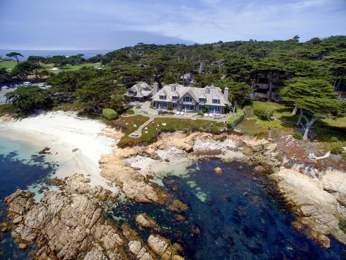 Carmel Home Overlooking an Ocean View
