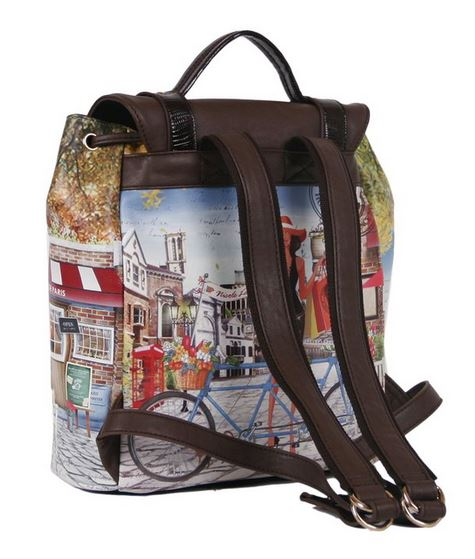 Fashion Backpack by Nicole Lee