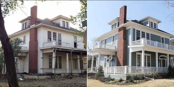 Fixer Upper Before and After With Chip and Joanna Gaines