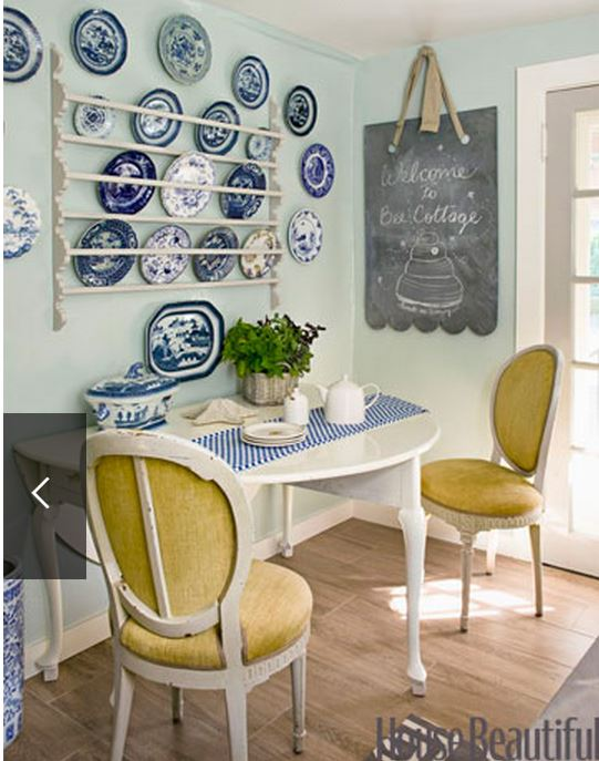 Frances Schultz's Bee Cottage Breakfast Area After Makeover