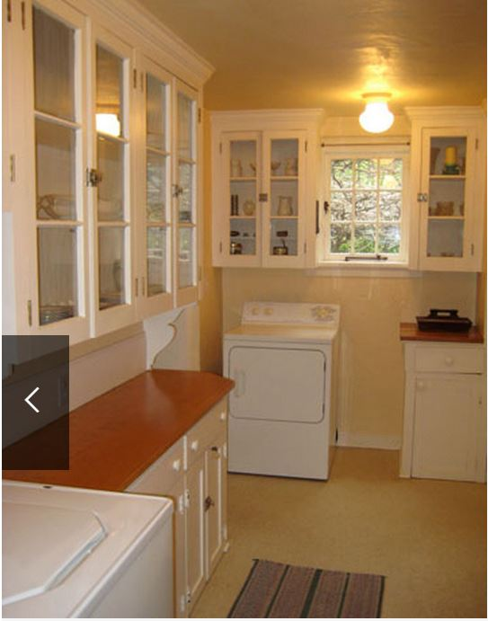 Frances Schultz's Bee Cottage Butler's Pantry Before Makeover