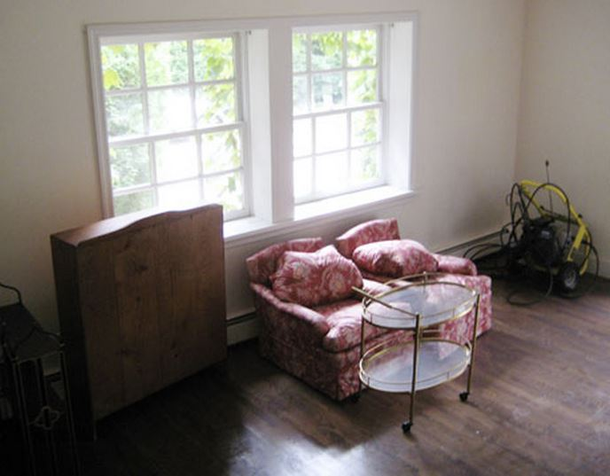 Frances Schultz's Bee Cottage Garden Room Before Makeover