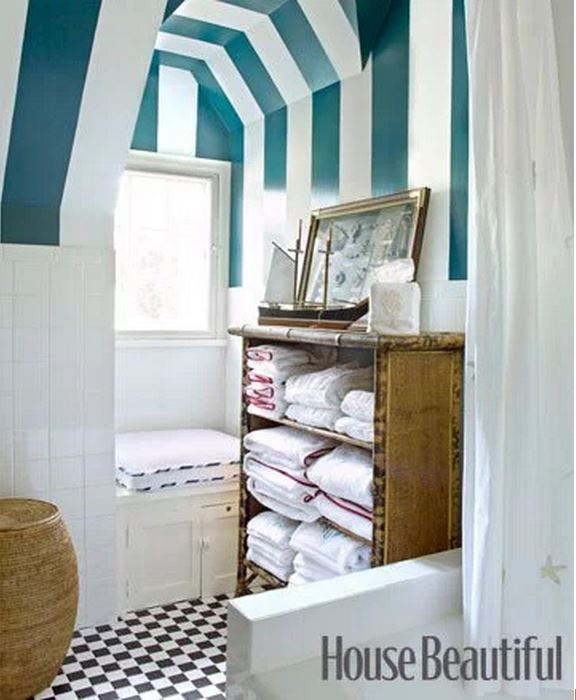 Frances Schultz's Bee Cottage Guest Bathroom After Makeover