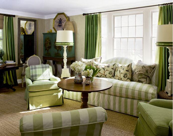 Frances Schultz's Bee Cottage Living Room, East Hampton