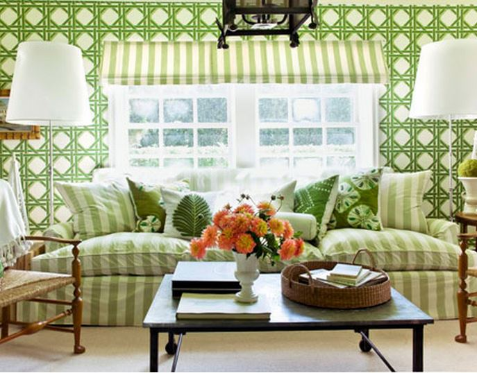 Frances Schultz's Garden Room in Bee Cottage