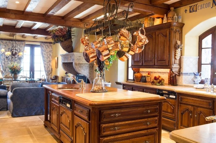 French Normandy Designed Kitchen