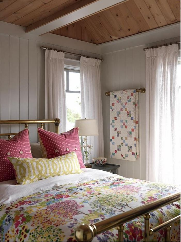 Guest Room in Sarah Richardson's Summer Beach House