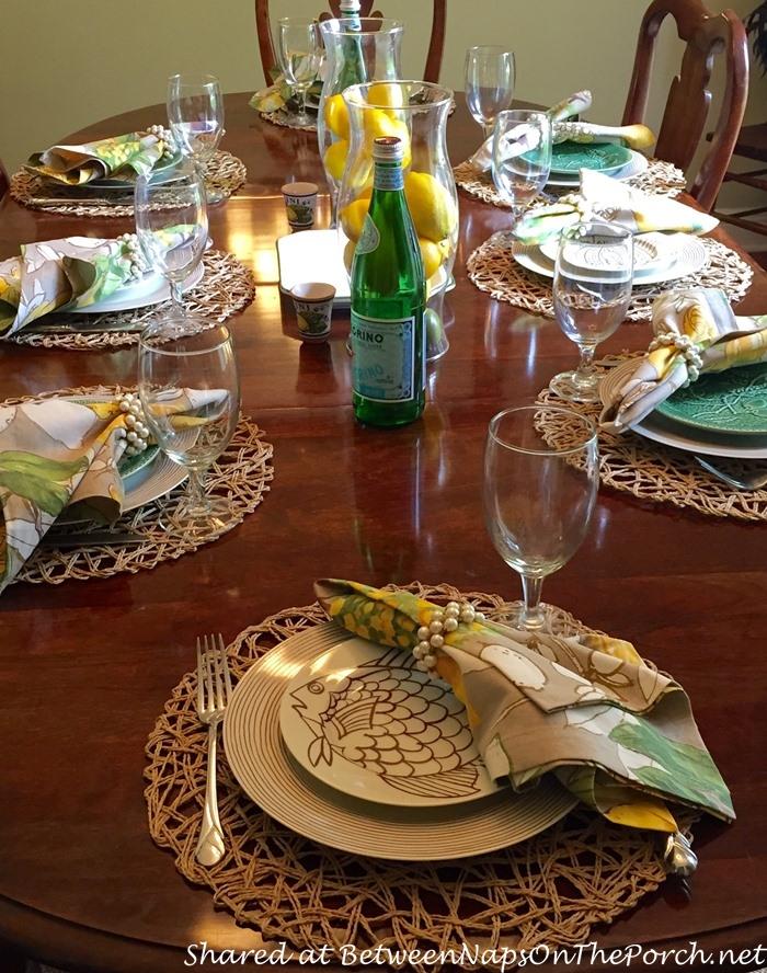 Italian Themed Tablescape with Lemon Centerpiece 01_wm