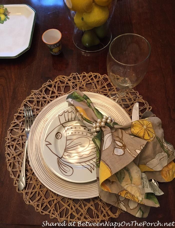 Italian Themed Tablescape with Lemon Centerpiece 05_wm