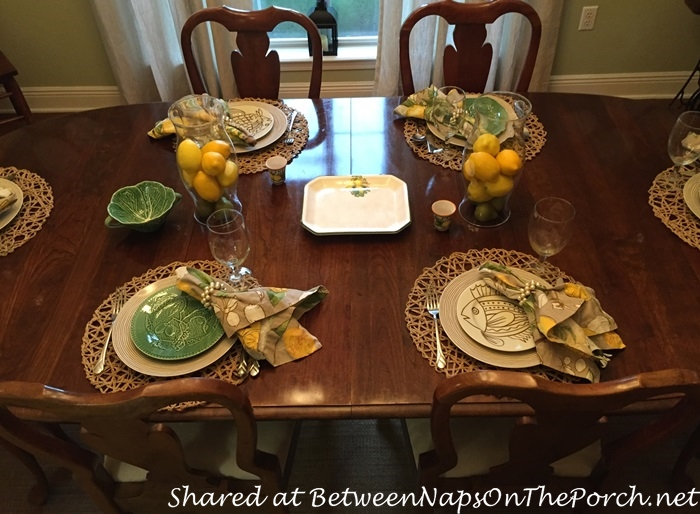 Italian Themed Tablescape with Lemon Centerpiece 07_wm