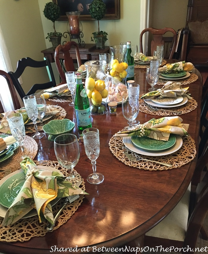 Italian Themed Tablescape with Lemon Centerpiece 09_wm