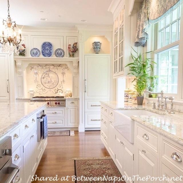 Kitchen in Victorian Home