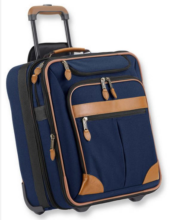 L. L. Bean Rolling Carry-on Bag, Fits Under Seat