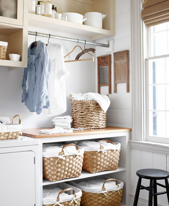 New Laundry Room for a Historic Mississippi Farmhouse